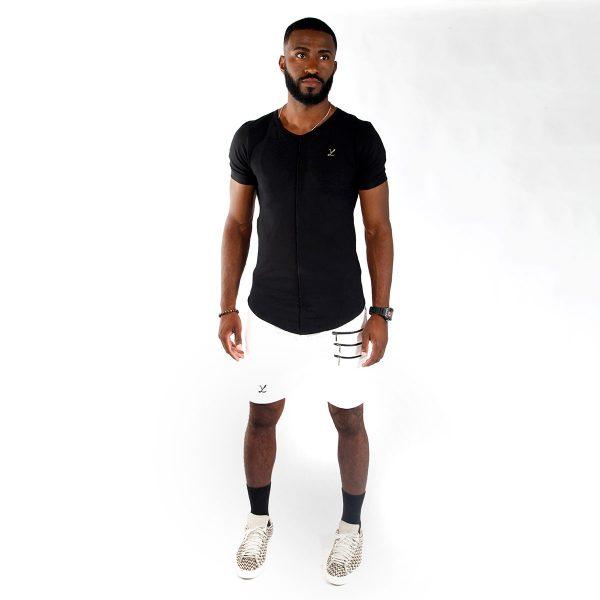 T-Shirt Camiseta Big Det Black