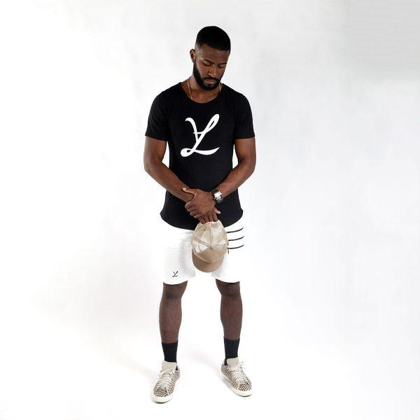 T-Shirt Camiseta Big Leg Black