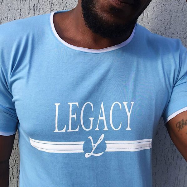 T-Shirt Camiseta Leg Blue