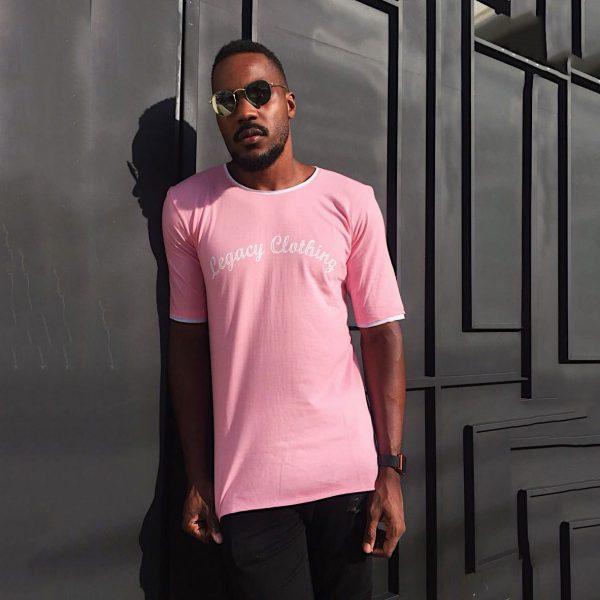 T-Shirt Camiseta Legclo Pink