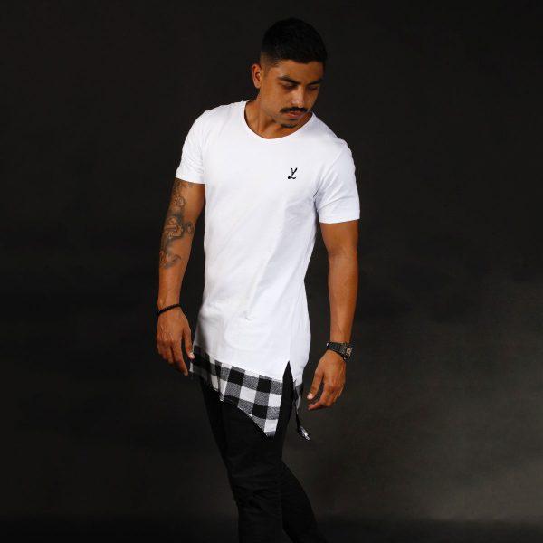 T-Shirt Camiseta White Chess