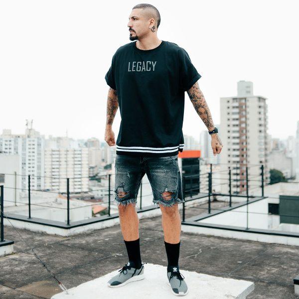 T-Shirt Camiseta Leg Stripes